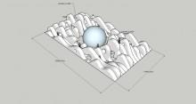 Meri-Teos Syötteellä 2012: aaltolabyrintti ja keskellä veden alainen maailma jäädytetyn iglun sisällä