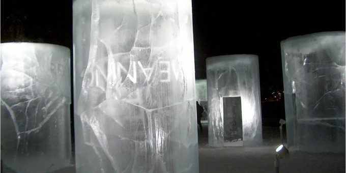 HRSB: Hollmen, Reute, Sandman, Barry: Ice Lanterns like Ursa Minor