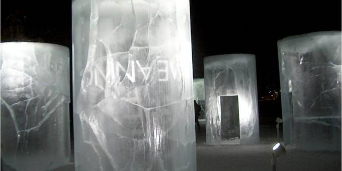 HRSB: Hollmen, Reute, Sandman, Barry: Ice Lanterns like Ursa Minor