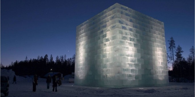 Ice Jail of Yoko Ono and Aratha Isozaki